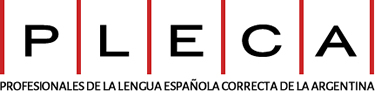 PLECA | Profesionales de la Lengua Española Correcta de la Argentina logo